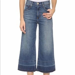 McGuire Denim Bessette Blue Culotte Jeans- Anthro